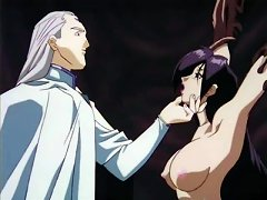 Dirty Hentai Flicks With Babe's Mouth Filled With Palps