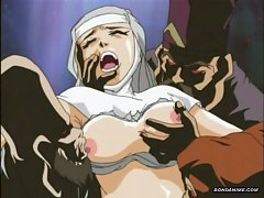 Hentai Nurse Gets Gangbanged And Abused