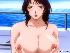 Ttwo Horny Hentai Girls With Huge Boobs In Hot Foursome